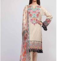 AIRJET LAWN Dress With Chiffon Duppata (Unstitched) (DRL-542) Price in Pakistan
