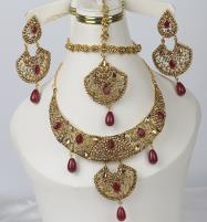 Bridal Barat Jewelry Set Design 2021 For Women (PS-350) Price in Pakistan