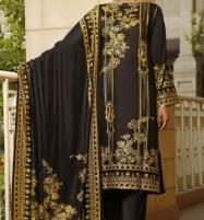 Classic Printed Black Lawn Collection With Printed Lawn Dupatta 20-118A  Price in Pakistan