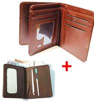 DEAL Pack OF 2 - Gents Standard Wallet + Stylish Mini Card Holder Price in Pakistan