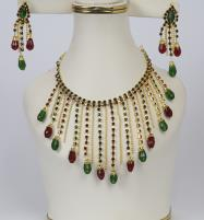 Beautiful Necklace Set With Earrings (PS-229) Price in Pakistan