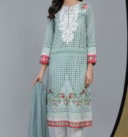 Eid Embroidered Chikankari Unstitched 3 Piece Suit  (Unstitched ) (DRL-522) Price in Pakistan