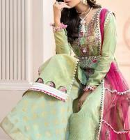 Embroidered Lawn Collection 2020 With Chiffon Duppata (Unstitched) (DRL-546) Price in Pakistan