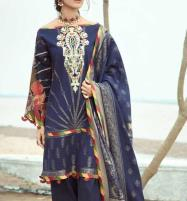 Embroidered Lawn Dress With Lawn Dupatta Unstitched 3 Piece Suit (DRL-567) Price in Pakistan