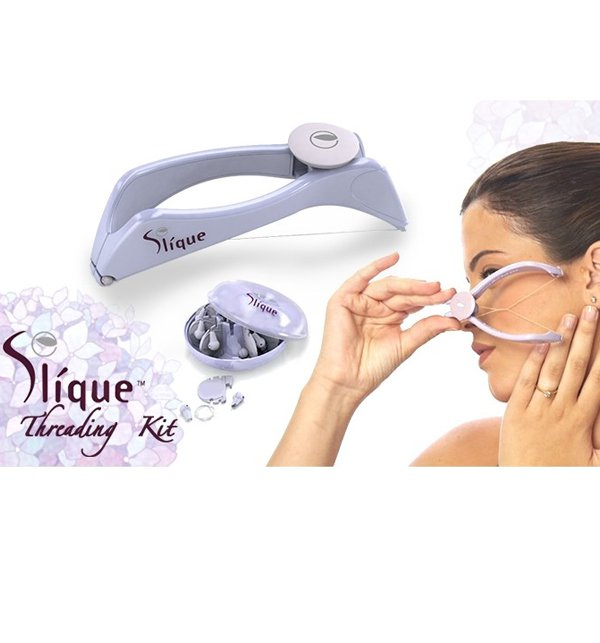 Slique Threading Kit Face & Body Hair Threading System Price in Pakistan