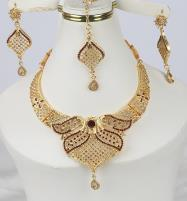 Golden Artificial Jewellery Sets (PS-369) Price in Pakistan