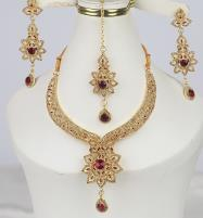 Golden Artificial Jewellery Sets  (PS-368) Price in Pakistan