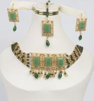 Beautiful Choker Set with Earring For Bridal  (PS-338) Price in Pakistan