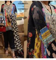 Heavy Embroidered Khaddar Dress with Wool Shawl Dupatta (KD-101) Price in Pakistan
