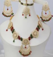Multicolor jewelry Set With Matha Patti (PS-268) Price in Pakistan