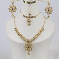 Indian Style Jewelry Sets With Matha Patti (PS-328) Price in Pakistan