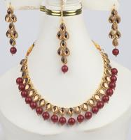 Beautiful Stone Necklace Set For Girls (PS-291) Price in Pakistan