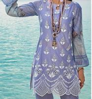 Luxury Heavy Embroidered Lawn 2020 With Chiffon Duppata UnStitched (DRL-654) Price in Pakistan