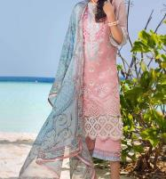 Luxury Heavy Embroidered Lawn 2020 With Chiffon Duppata UnStitched (DRL-655) Price in Pakistan