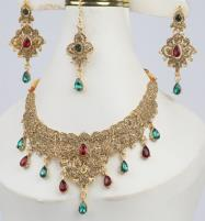 Multi Color Jewellery Set For Girls (PS-293) Price in Pakistan