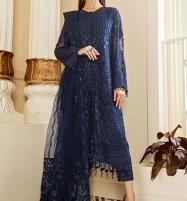 New Chiffon Embroidery Suit With Net Embroidery Duppata (CHI-376) Price in Pakistan