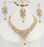 New Jewelry Set With Earring & Matha Patti  (PS-286) Price in Pakistan