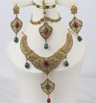 Improted Bridal Multi Store Jewelry Set Design 2021 For Women (PS-352) Price in Pakistan