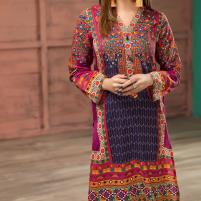 Lawn Embroidery Dress 2020 UnStitched (DRL-418) Price in Pakistan