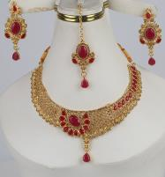 Wedding Golden Jewellery Sets For Dulhan (PS-373) Price in Pakistan