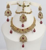 Wedding Jewellery Set For Girls (PS-347) Price in Pakistan