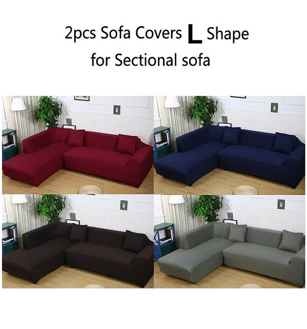 L SHAPE 6 Seater SOFA COVER (3+3 Seater)