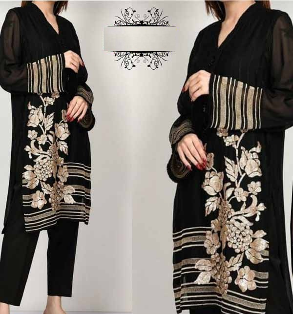 Lawn Full Heavy Embroidery Suit 2021 (DRL-703)