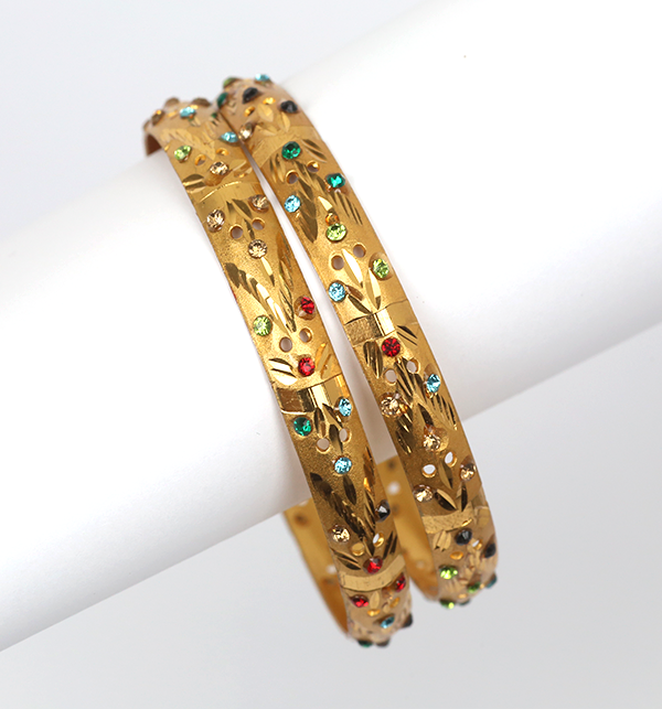 Artificial Indian Gold Bangle  For Girls & Women (BH-39)