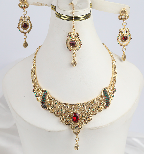 Jewellery Set For Girls Latest Design Necklace,Earrings (PS-288)