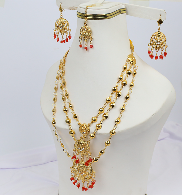 Wedding Artificial Jewelry Sets Design  (PS-214)